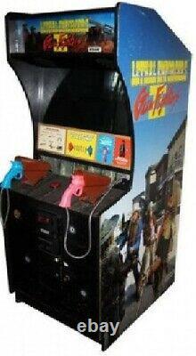 LETHAL ENFORCERS II ARCADE MACHINE by KONAMI 1994 (Excellent Condition) RARE