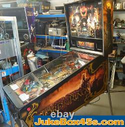 Lord Of The Rings Pinball Machine Beautiful Condition Warranty