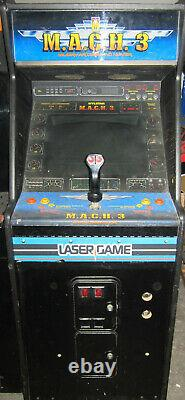 M. A. C. H. 3 ARCADE MACHINE by MYLSTAR 1983 (Excellent Condition) RARE