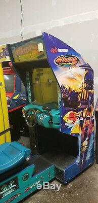 MIDWAY HYDRO THUNDER ARCADE MACHINE (Excellent Condition) RARE withLCD UPGRADE
