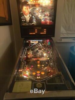 Mario Andretti Pinball Machine 1995 Gottlieb Fully working condition