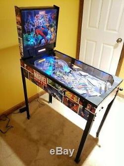 Marvel Super Heroes Pinball Machine Zizzle Avengers SUPER RARE