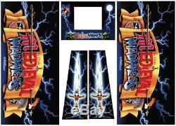 Medieval Madness Pinball Machine Cabinet Decals NEXT GEN LICENSED