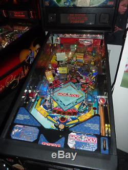 Monopoly pinball machine in great working order