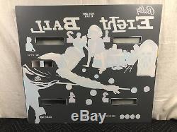 NEW Bally Eight Ball Pinball Machine Game Backglass CPR