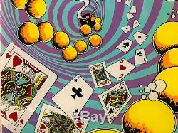 NOS Gottlieb Top Hand Pinball Machine Game Backglass Add A Ball