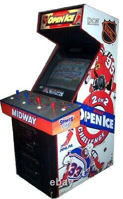 OPEN ICE ARCADE MACHINE by MIDWAY (Excellent Condition)