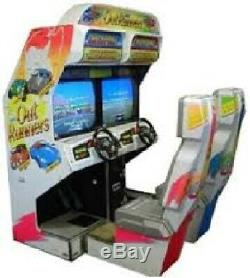OUT RUNNERS ARCADE MACHINE by SEGA (Excellent Condition) RARE