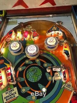 Outer Space Gottlieb 2 player Electromechanical Pinball Machine