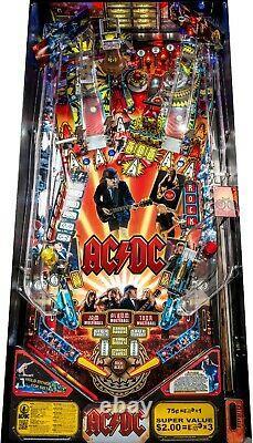 PLAY FIELD NOS Stern AC/DC Pro Playfield Pinball Machine