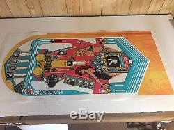 PLAYBOY Pinball Machine Playfield Overlay UV PRINTED Clear Inserts