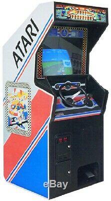 POLE POSITION ARCADE MACHINE by ATARI 1982 (Excellent Condition) RARE