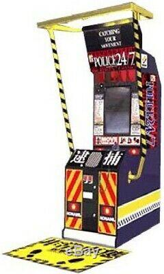 POLICE 911 ARCADE MACHINE by KONAMI (Excellent Condition) RARE