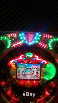 Pachinko Japanese Arcade Machine Pinball Game Man Cave Retro Decor Manga Anime