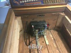 Penny arcade machine 1930 pinball travel round the world