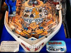 Pinball Bally Popeye Safes the Earth 1994 Flipper All Original Manual Special