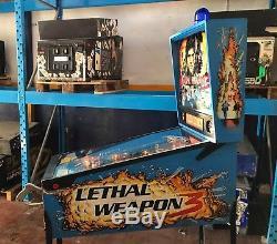 Pinball DataEast Lethal Weapon 3 USED Flipper 100% Working BestLowPriceWorld
