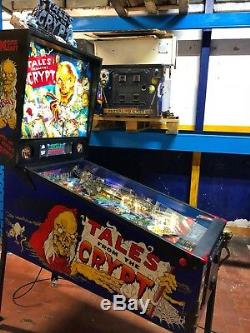 Pinball DataEast Tales From The Crypt 1993 Full LED + Colour DMD Display Flipper