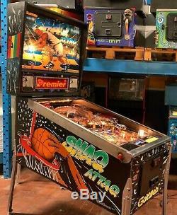Pinball Gottlieb Shaq Attaq 1995 Flipper Full Working Condition Express Shipping