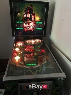 Pinball Haunted House. Excellent condition for age. Triple level. Classic