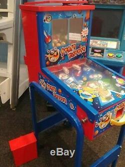 Pinball Machine Bouncy Ball Vending Machine Space Flipper
