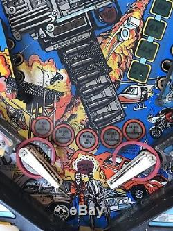Pinball Machine Data East Lethal Weapon 3 1992 Flipper good project non working