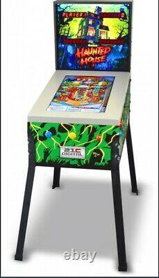 Pinball Machine Haunted House Black Hole 3D Digital Image 12 Arcade Games in 1