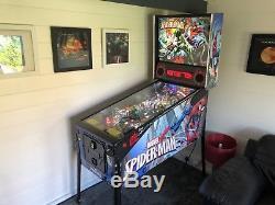 Pinball Machine STERN SPIDERMAN VAULT EDITION
