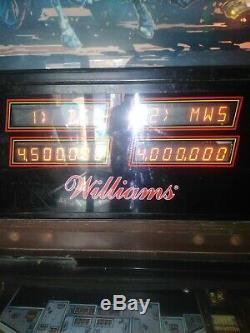 Pinball Machine Williams Fire