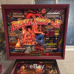 Pinball Machine. Zaccaria Pinball Champ 82