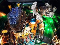 Pinball SEGA Godzilla 1998 (Only 510 Produced) Flipper 100% Working Rare Vintage