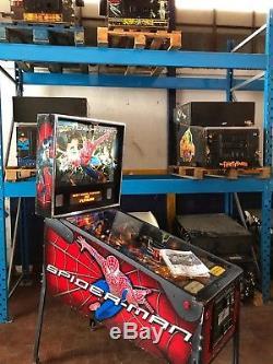 Pinball STERN Spider-Man 2007 USED 100% Working Condition Flipper BestLowPrice