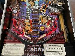Pinball WILLIAMS Dirty Harry 1995 Flipper 100% Working Cond. BestLowPriceWorld