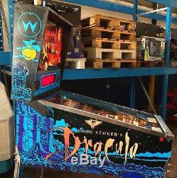 Pinball Williams BRAM STOKER'S DRACULA 1993 + Original Manuals Flipper LikeNew