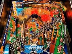 Pinball Williams Fish Tales 1992 Flipper Orig. Never Restorer 100% Work. + Manual