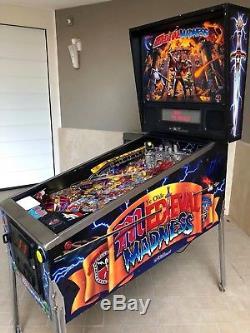 Pinball Williams Medieval Madness 1997 Flipper Full Restorer LED ExpressShip TNT