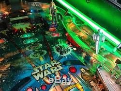 Pinball Williams Star Wars Episode I 3D Flipper All Original Manual Best Condi