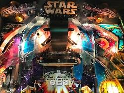 Pinball Williams Star Wars Episode I 3D Flipper All Original Manual Orig. Glass