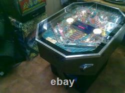 Pinball machine 1989 night moves quite rare in uk/under 500 made