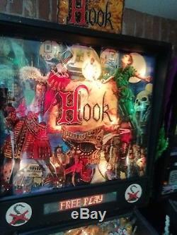 Pinball machine hook