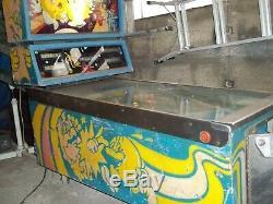 Pinball machine, pacman