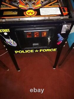 Police Force Pinball Machine