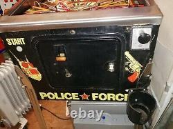 Police Force Pinball. Williams 1989