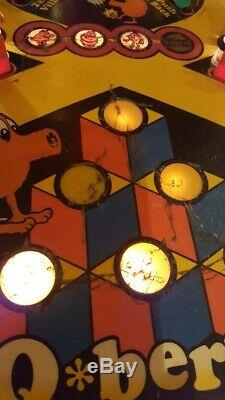 Q-Berts Quest Pinball Machine Incredibly Rare Gottlieb
