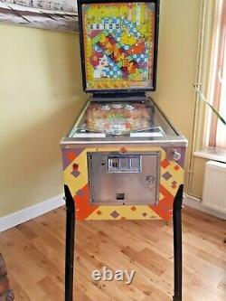 Rare 1972 Vintage Williams EM Spanish Eyes Pinball Machine