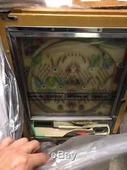 Rare NISHIJIN Antique Vintage Japan Pinball PACHINKO Slot Arcade Machine Toy Set