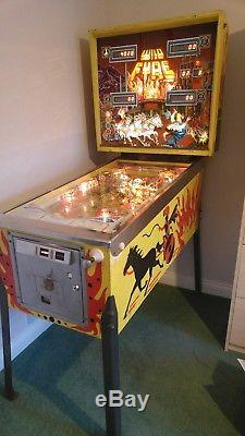Rare Stern Wild Fyre Pinball Machine