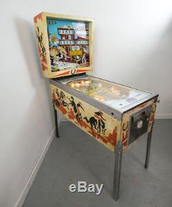 Rare Vintage Retro Pinball Machine Gottlieb Bronco 4 player 1977