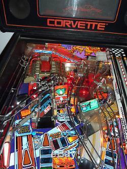 Really nice Corvette pinball machine in full working order