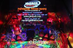 Revenge From Mars Pinball Machine Pristine Collectors Condition